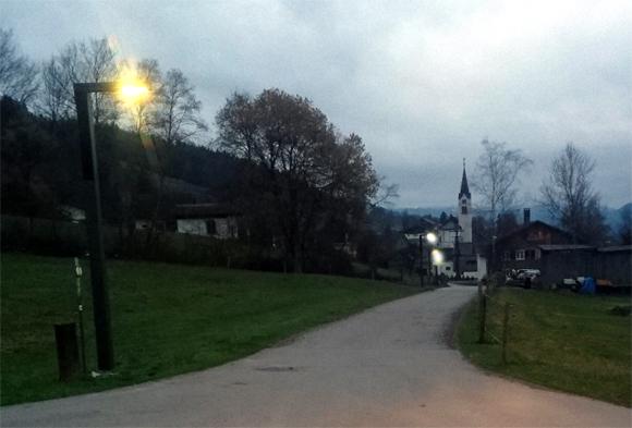 Thal Leuchtet Mit Gespeicherter Sonnenenergie Sulzberg Homepage